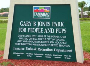 Gary B Jones Park for People and Pups