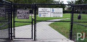 Wellington Dog Park Large Dog Entrance