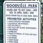 Woodville Dog Park Logo