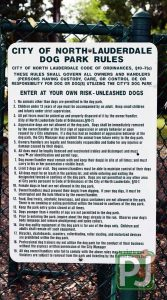 Woodville Dog Park Rules