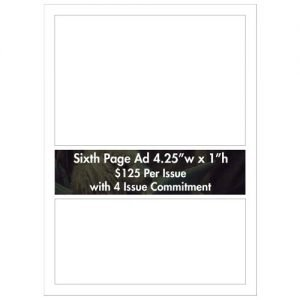 Sixth Page Ad