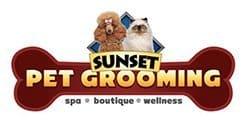 Sunset Grooming Logo